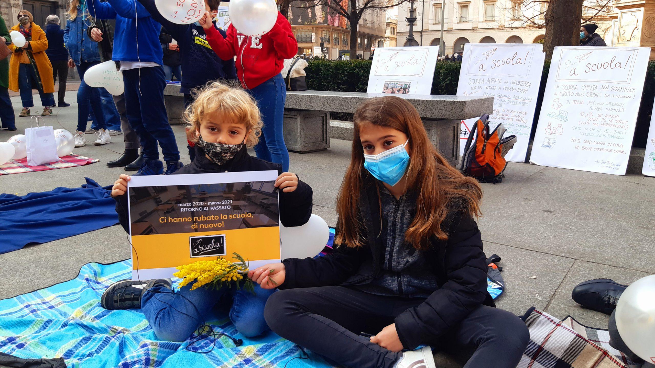 8 Marzo bambini a Palazzo Marino