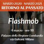 Flashmob a Palazzo della Regione Lombardia del 4 Marzo 2021