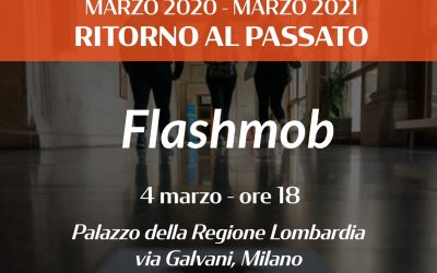 Flashmob a Palazzo della Regione | 4 Marzo h 18.00
